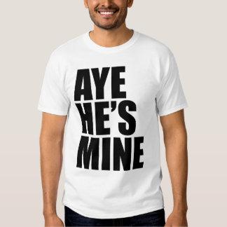Aye är han bryter den roliga t-skjortan tee