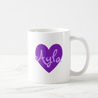 Ayla i lilor kaffemugg