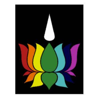 Ayyavazshi lotusblomma vykort