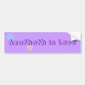Azathoth är kärlek bildekal