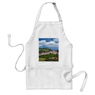 Azorean landskap förkläde