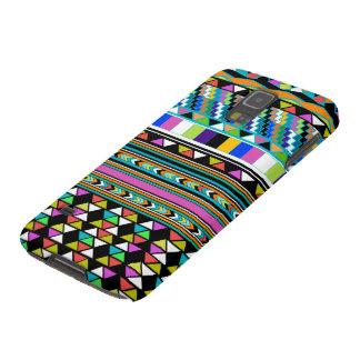 Aztec Andes abstraktmönster Sam. Fodral för galax Galaxy S5 Fodral