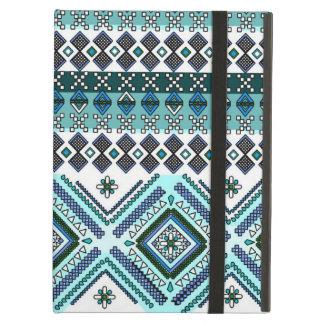 Aztec Andes för blått stam- mönster Fodral För iPad Air