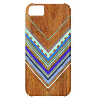 Aztec Arbutusblått iPhone 5C Fodral