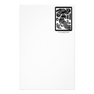 Aztec Cuauhtli - svart) brevpapper för örn (