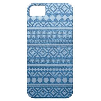 Aztec fodral för DenimiPhone 5 iPhone 5 Case-Mate Skal