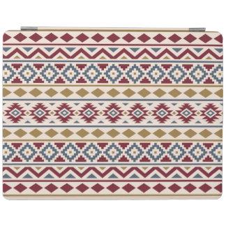 Aztec för blåttguld för extrakt III Rpt Ptn röd iPad Skydd