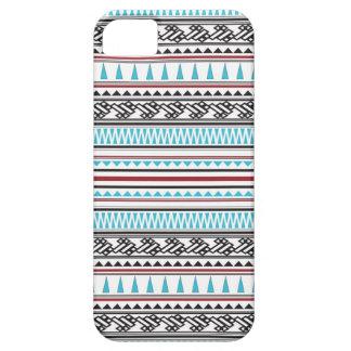 Aztec geometriskt Herringbonemönster iPhone 5 Case-Mate Cases