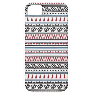 Aztec geometriskt Herringbonemönster iPhone 5 Case-Mate Skal