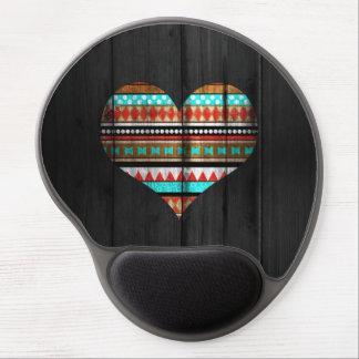 Aztec hjärta gelé mus-matta