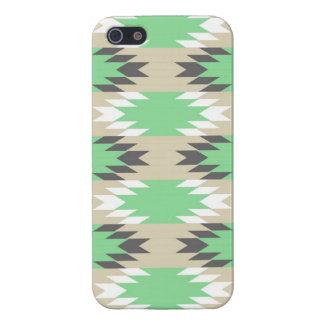 Aztec indian för Andes stam- gröntgrått iPhone 5 Skydd