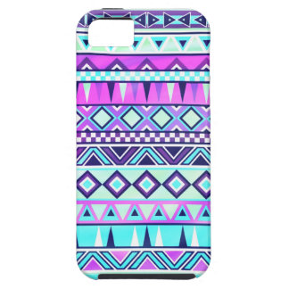 Aztec inspirerat mönster iPhone 5 cover