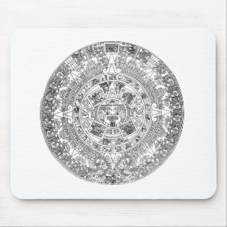 aztec kalender mus mattor