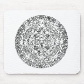 aztec kalender mus matta