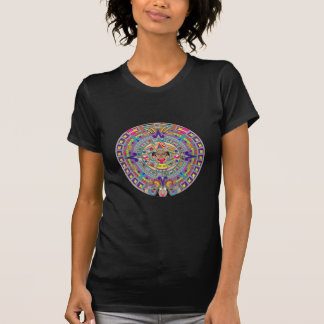 Aztec kalender t shirt
