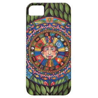 Aztec kalendertelefonfodral iPhone 5 Case-Mate fodraler