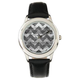 Aztec konst för sparreträabstrakt armbandsur