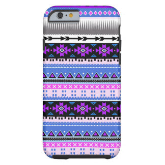 Aztec lilor & plommon tough iPhone 6 case