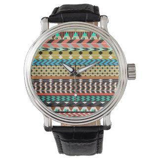 Aztec mönster för öken armbandsur
