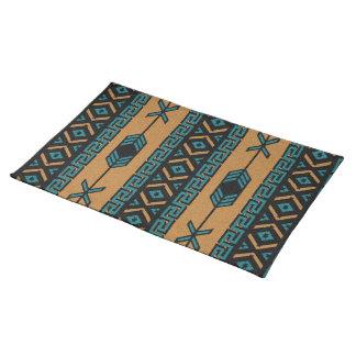 Aztec mönster för solbränd turkosSouthwest Bordstablett