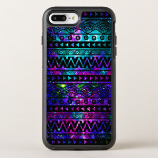 Aztec Nebularosablått OtterBox Symmetry iPhone 7 Plus Skal