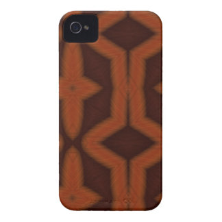 Aztec orange iPhone 4 cover