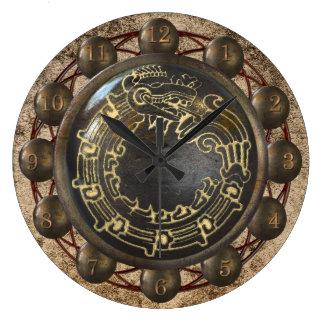 Aztec orm stor klocka