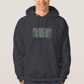 Aztec ormmanar tröja för Hoodie