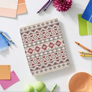 Aztec röd extraktPtn IIIb kräm- Taupe iPad Skydd