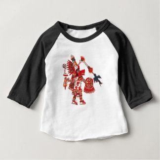 Aztec shamankrigare för dans t shirt