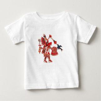Aztec shamankrigare för dans t shirts