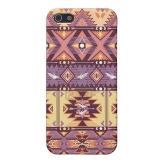 Aztec stam- fodral för priniphone 5 iPhone 5 hud