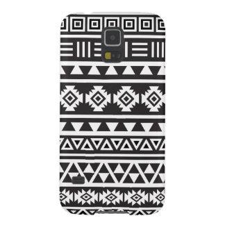 Aztec stort) mönster för stil (- monokrom galaxy s5 fodral