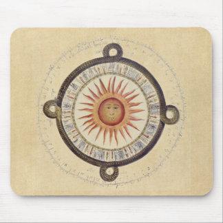 Aztec Sunstone kalender Musmatta