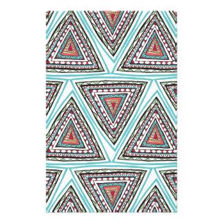 Aztec trianglar brevpapper
