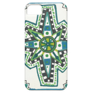 Aztec tryck iPhone 5 Case-Mate fodral