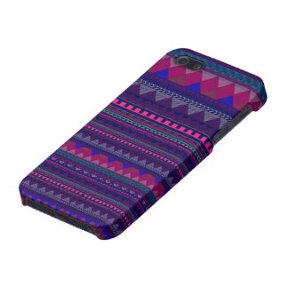 Aztec tryck iPhone 5 fodraler