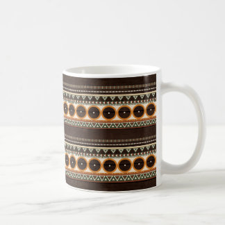 Aztec Wood struktur Kaffemugg