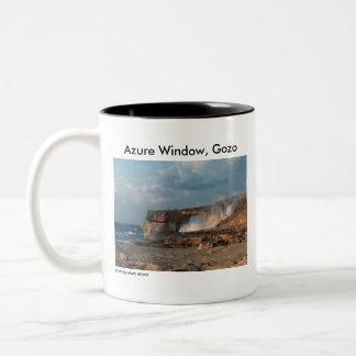 Azure fönster, Gozo Två-Tonad Mugg
