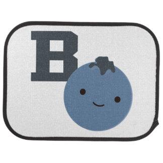 B är för blåbär bilmatta
