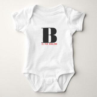 B är för boolean t-shirts