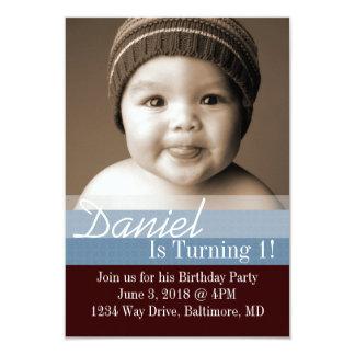 B-Dag för födelsedagsfestinbjudan | mig |dbrbl 8,9 X 12,7 Cm Inbjudningskort