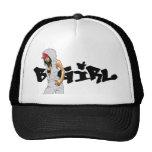 B-Flicka hatt Trucker Kepsar