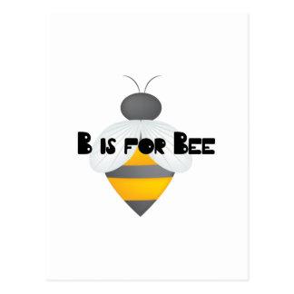 B för bi vykort