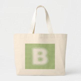 B-Monogram Tygkassar