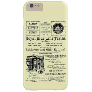 B+Utbildar den kungliga blålinjen för nollan 1910 Barely There iPhone 6 Plus Skal