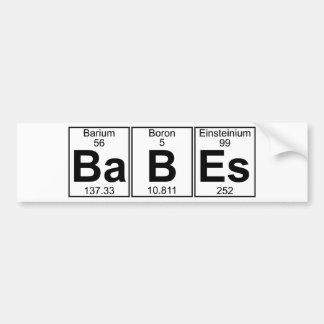 Ba-B-Es (fulla babes) - Bildekal