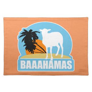 Baaahamas strand bordstablett