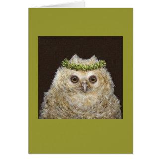 Babs owletkortet hälsningskort