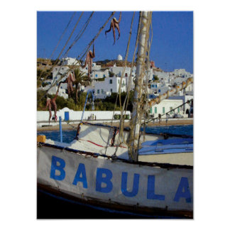 Babula fartyg poster